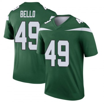 Youth New York Jets B.J. Bello Gotham Green Legend Player Jersey By Nike