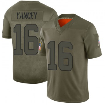 Youth New York Jets DeAngelo Yancey Camo Limited 2019 Salute to Service Jersey By Nike