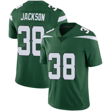 Youth New York Jets Lamar Jackson Green Limited 100th Vapor Jersey By Nike