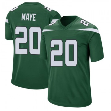 Youth New York Jets Marcus Maye Gotham Green Game Jersey By Nike