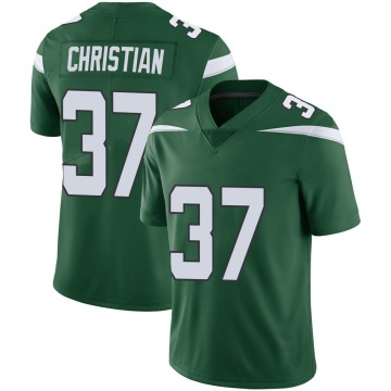 Youth New York Jets Marqui Christian Gotham Green Limited Vapor Jersey By Nike