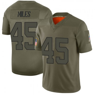 Youth New York Jets Rontez Miles Camo Limited 2019 Salute to Service Jersey By Nike