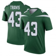 Youth New York Jets Ross Travis Gotham Green Legend Player Jersey By Nike