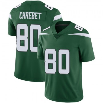 Youth New York Jets Wayne Chrebet Green Limited 100th Vapor Jersey By Nike