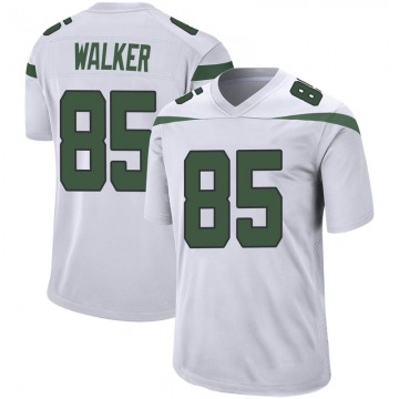 Youth New York Jets Wesley Walker Spotlight White Game Jersey By Nike